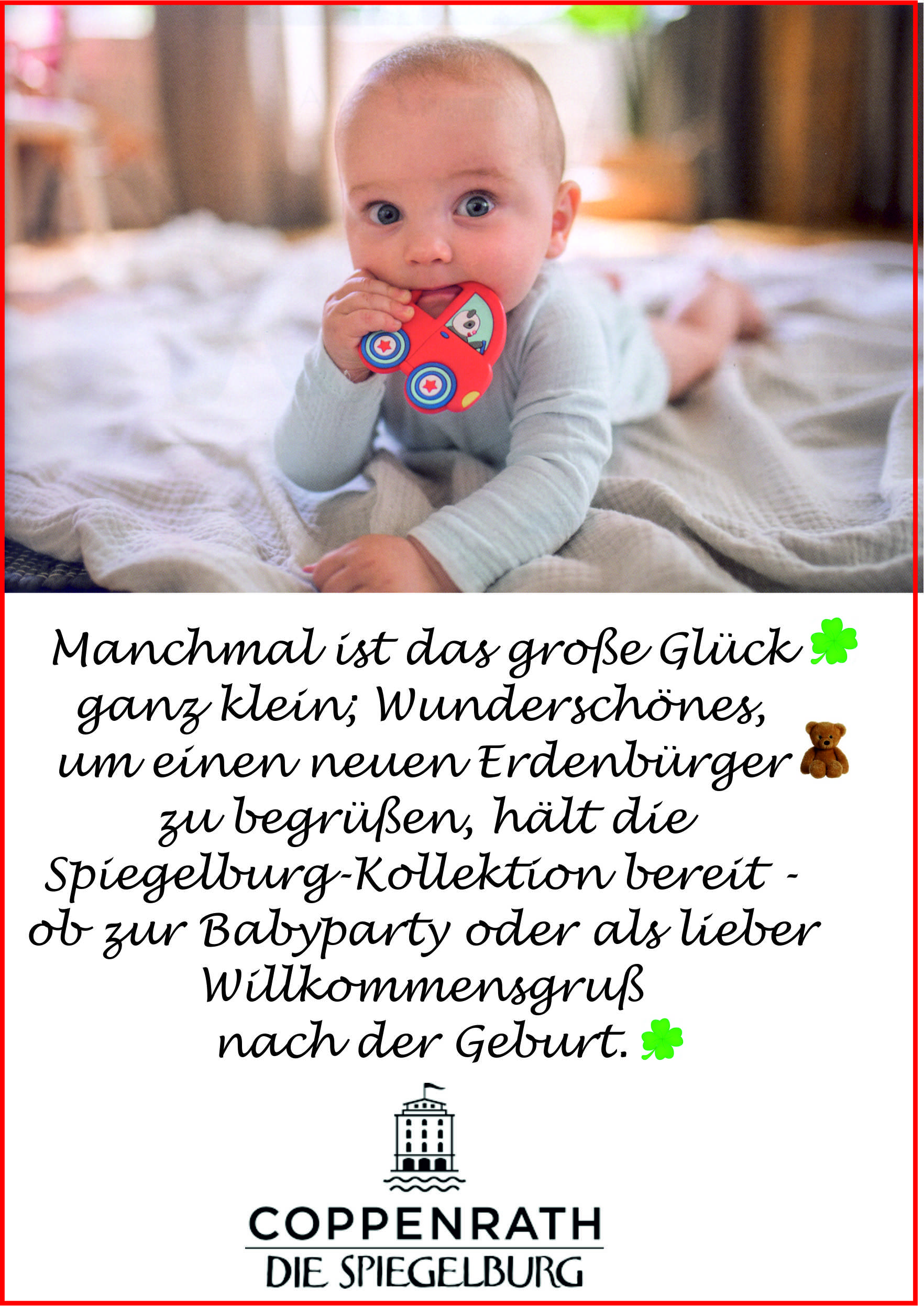 Coppenrath Die Spieleburg Babyparty Lathen